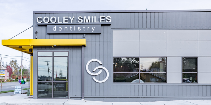 Building exterior of Cooley Smiles.